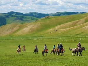 13 Day Horse Trekking in the Orkhon Valley, Mongolia