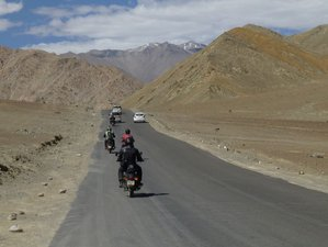 18 Day Guided Himalaya Delhi Loop Motorcycle Tour via Leh