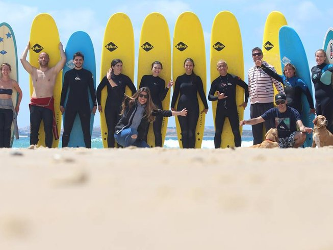 8 Days Excentric Surf Camp in Porto, Portugal