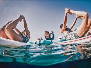 15 Day Surf, SUP Yoga and Yoga Retreat in Lanzarote