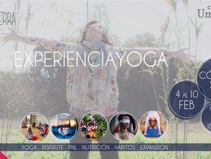 Experiencia Yoga. 7 días de Yoga, Detox, PNL, Disfrute y Meditación en Córdoba.