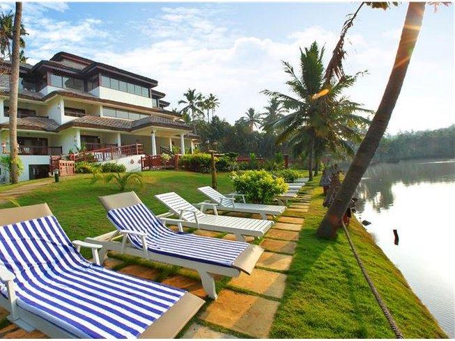 15 Days Kerala Yoga Retreat at Fragrant Nature Backwater Resort