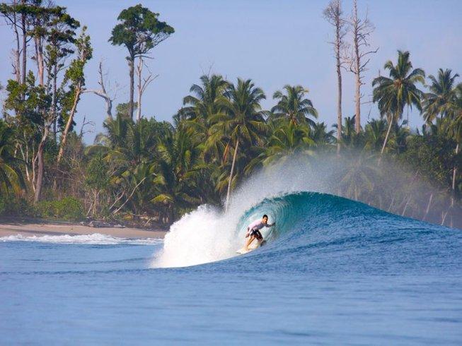 3 Days Captivating Surf Camp in North Sumatra, Indonesia