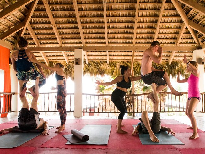 7 Days Acro Yoga Retreat in Cabarete, Dominican Republic
