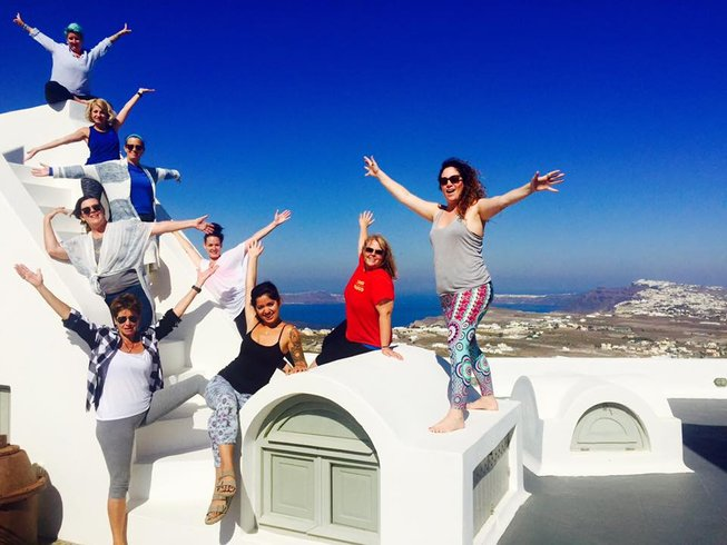8 Days Yoga Retreat in Greece
