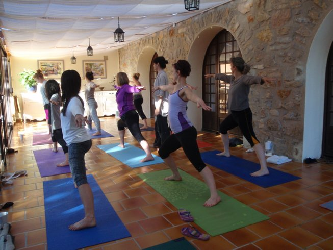7 Days Yoga and Cuisine Holiday in Provence, France