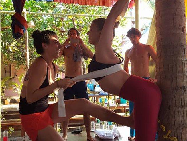 27 días de profesorado de yoga de 300 horas en Goa, India