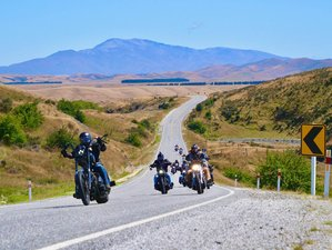 12 Day Kiwi Crusade Guided Motorcycle Tour in New Zealand