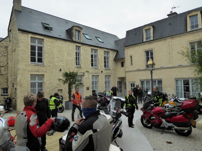 7 Days Guided Motorcycle Tour France