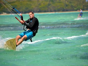 15 Days Kitesurfing Camp in Le Morne Brabant, Mauritius