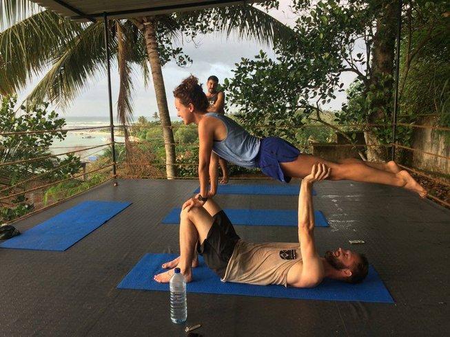 Yoga Woche in Weligama, Sri Lanka