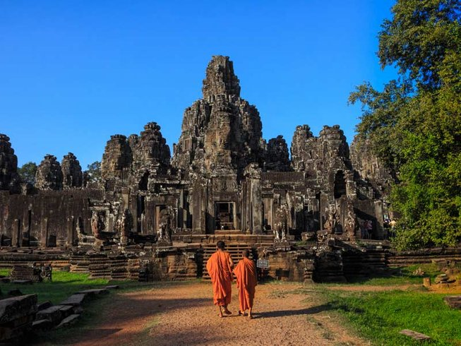 8-Daagse Fantastische Yoga Retraite in Siem Reap, Cambodja