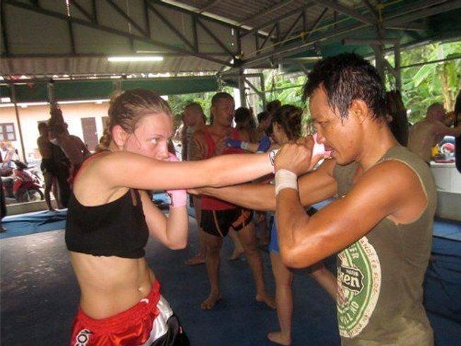1 Month of Muay Thai in Maret Lamai, Koh Samui