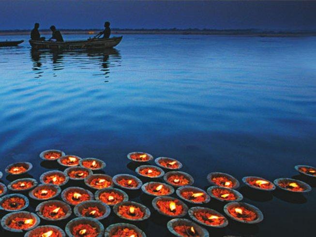 10 días retiro de yoga místico en India