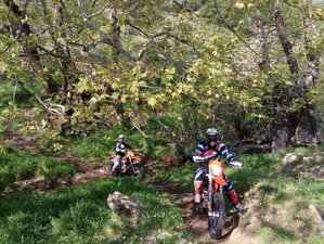 5 Day Guided Economy Enduro Motorcycle Tour in Greece