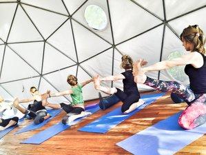 4 días retiro de yoga detox y comida orgánica en Canadá