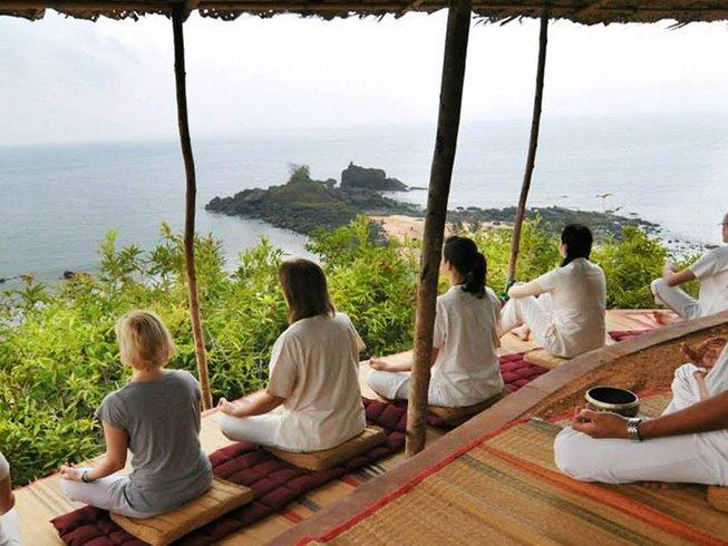 15 días de retiro de yoga y Ayurveda en Gokarna, India