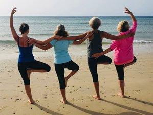 8 Tage Erlebe ein Gefühl von Freiheit und Frieden in Dir im Aktiv Yoga Urlaub auf Fuerteventura