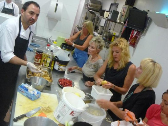 5 Days Gourmet Cooking Holiday Spain