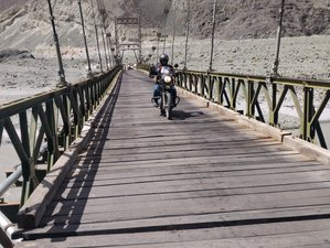 11 Day Srinagar to Leh Ladakh Guided Motorcycle Tour in India