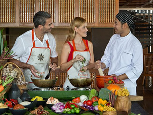 4 Days Spice Spoons Cooking Holidays in Thailand