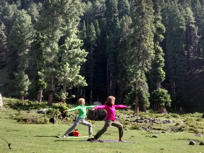 7 Days Yoga Holiday in Peaceful Kashmir, India