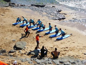 5 Days Summer Surf and Yoga Holiday in Ericeira, Portugal