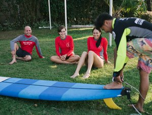 6 Days Exciting Beginner and Intermediate Surf Camp in Sanur, Bali