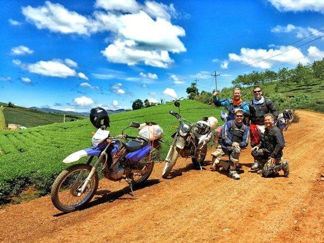 3 Days Saigon to Da Lat Motorcycle Tour in Vietnam