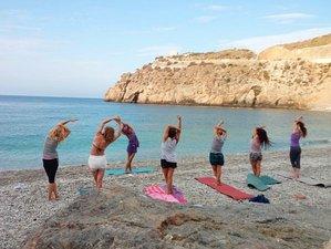 8 días de retiro de yoga en velero de Barcelona a Menorca y Mallorca
