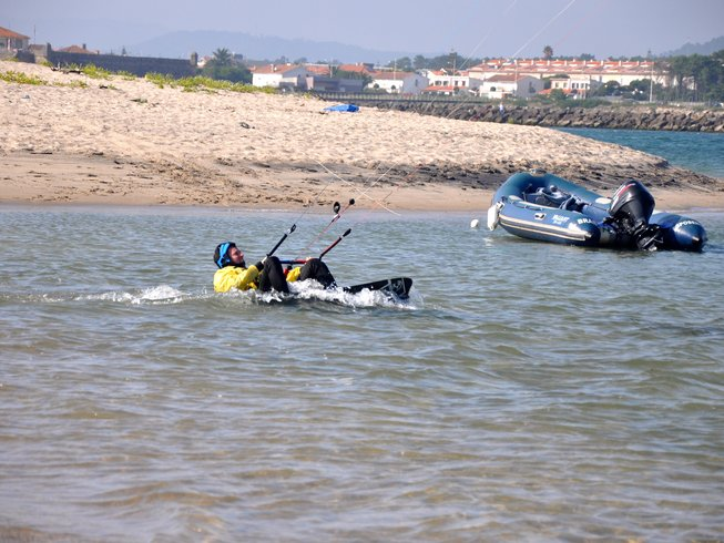 8 Days Kitesurfing Camp in Esposende, Portugal