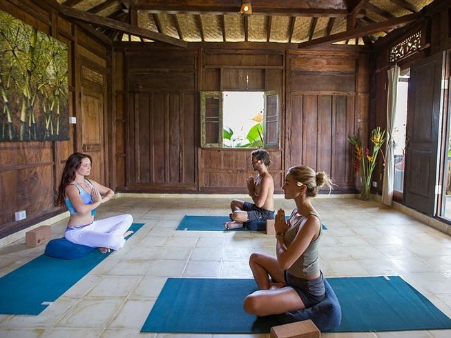 7 Days Chill Out and Recharge Yoga Retreat in Bali, Indonesia