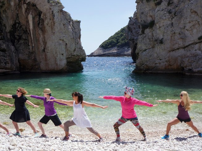8 Days Yoga Retreat in Vis Island, Croatia