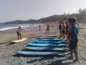 8 Days Beginner Surf Camp in Nayarit, Mexico