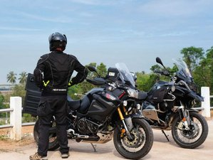 3 Day Guided Coastal Motorcycle Tour in Central Thailand