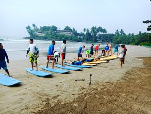 3 Days Beginner Surf Camp in Unawatuna, Sri Lanka