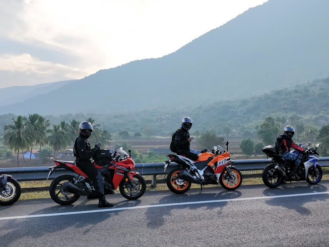 Guided motorcycle tours - personal bike