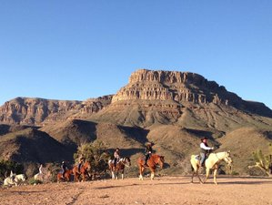 2 Day Cowboy Cabin and Wild West Adventure and Grand Canyon Helicopter Tour in Meadview, Arizona