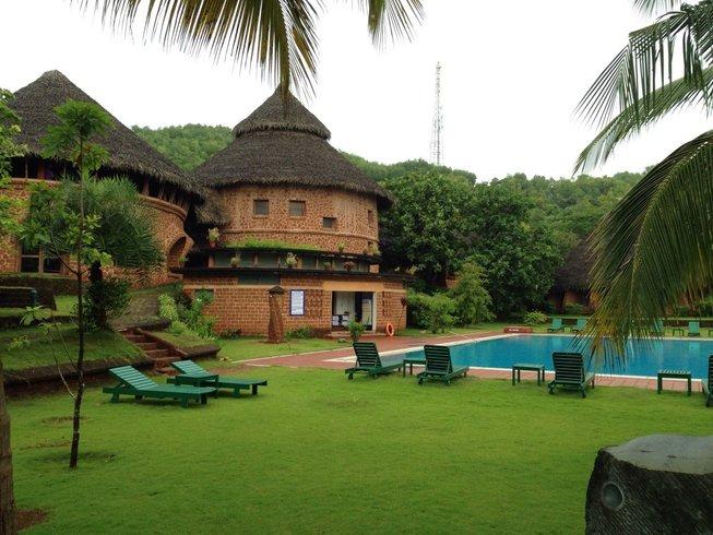 22 Days Meditation and Yoga Retreat in Gokarna, India