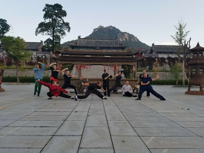 2 Years Martial Arts Training in China