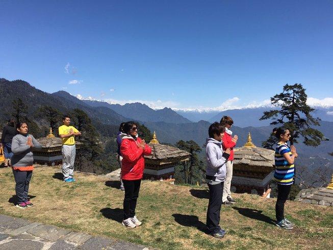 6 Days Yoga Retreat Bhutan