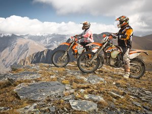 7 Day Guided Enduro Motorcycle Tour Through Savannah And Caucasus Mountains in Eastern Georgia