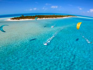 8 Day The Bahamas Kitesurfing Cruise on a Catamaran in Nassau, New Providence