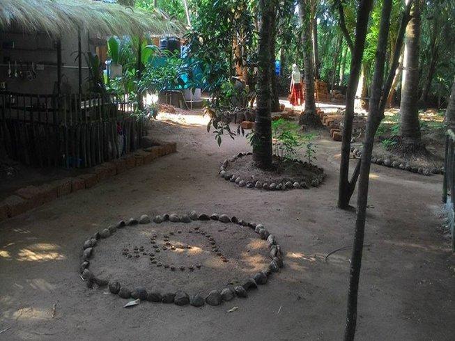 30 días de retiro de yoga y vida consciente en Goa, India