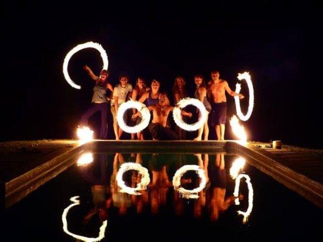 7 Days Fire Dance and Yoga Retreat in Costa Rica