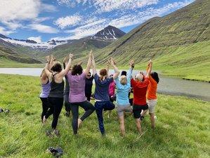 6 Day Summer Solstice Yoga Holiday in Akureyri