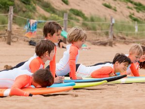 8 Day Family Surf Camp in Montalivet, in the Médoc