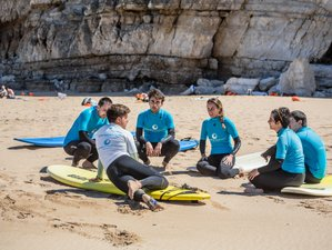 5 Days Beginner's Surf and Yoga Retreat in Portugal