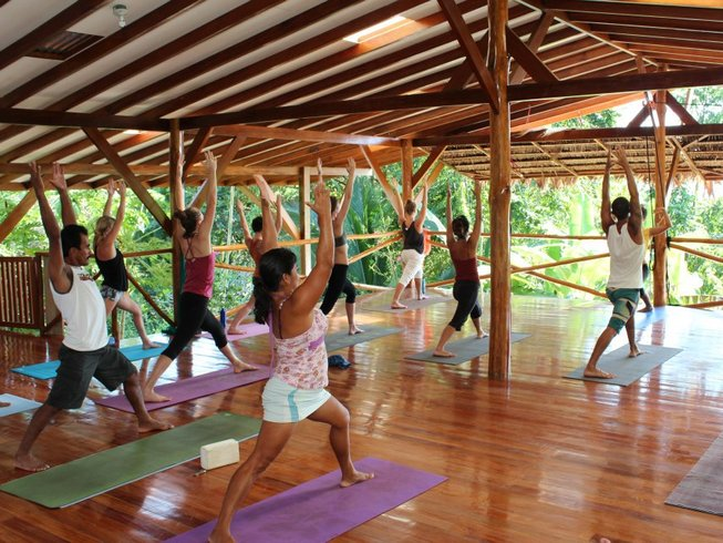 7 Days Yoga Retreat at Yoga Farm Costa Rica