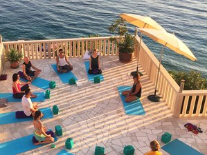 7 jours de stage de yoga à la plage en Croatie